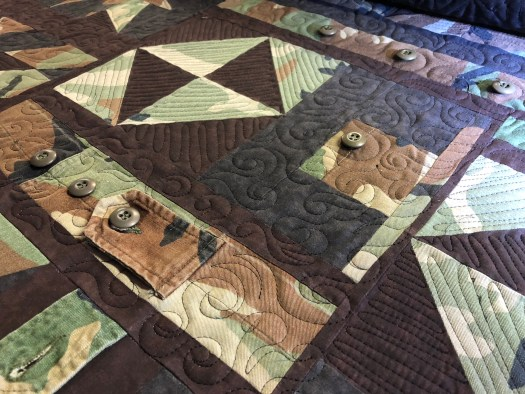 Quilting a military Quilt The Quilt Rambler