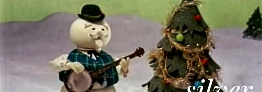 Screen shot Snowman singing Silver and Gold