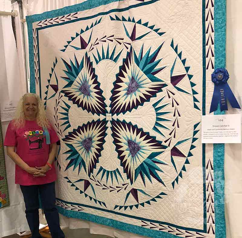 Quilt Show Ribbon Winner