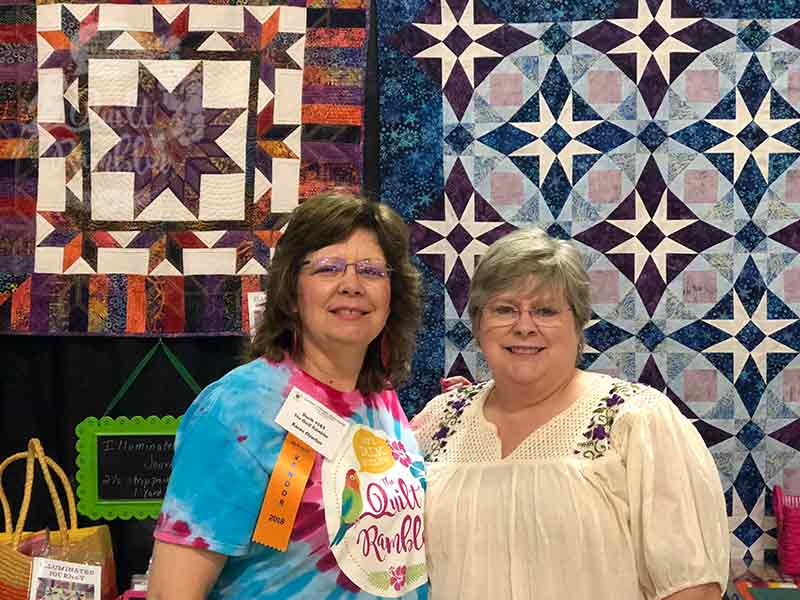 Quilt Shows, Where Friends Gather