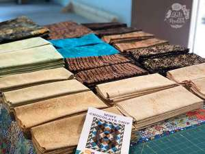 Mint Chocolate Chip Fabric Kits by The Quilt Rambler