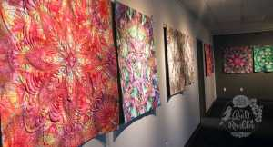 Beautiful Quilts at HandiQuilter headquarters