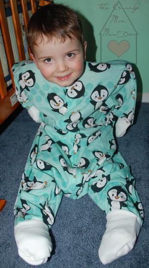 984b8061a This Just In...Sleeping Baby s Flying Squirrel Cutest Pajamas Ever + ...