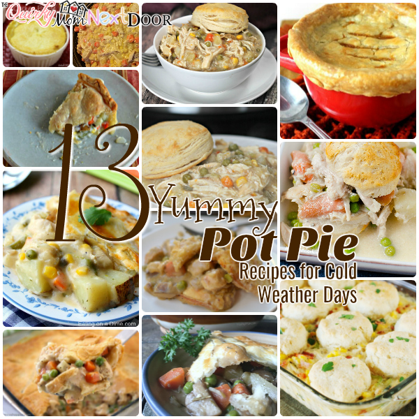 13 pot pie recipes