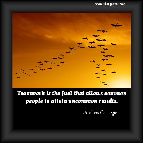 Teamwork Quote Day