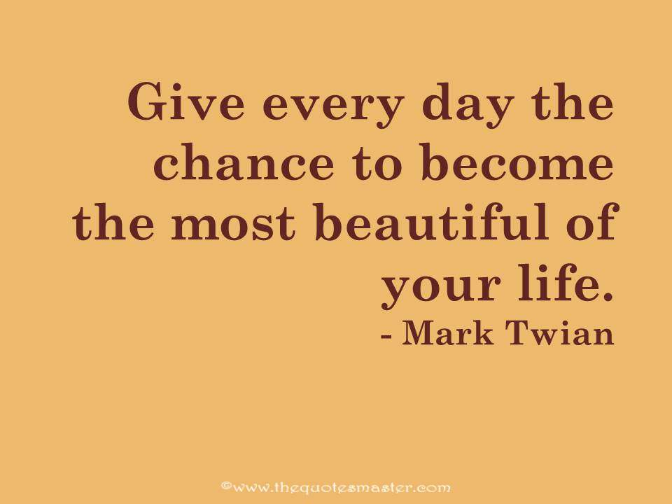 Mark Twain Quote About Life