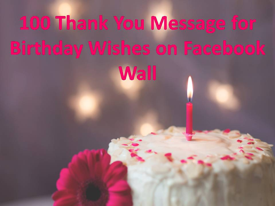 100 thank you message