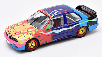 ixo ken done bmw art car diecast