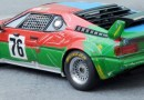 BMW Art Car models in 1:43 scale
