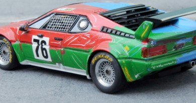 renaissance andy warhol bmw art car 1:43 models
