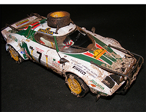 lancia rally by dennis koleber dirty models