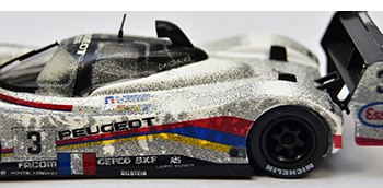 quartzo peugeot 905 lemans 1993 dirty models finish line version