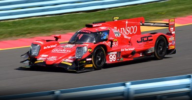 the winning gainsco-sponsored car