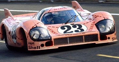 porsche 917-20 at LeMans porsche pink pig