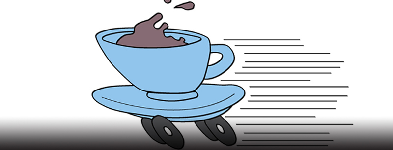 coffee cup on wheels_cars and coffee cups 2