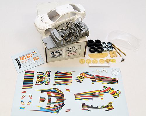 jeff koons bmw art car kit by jps miniatures
