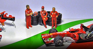 2004 Ferrari dream team by racing dioramics