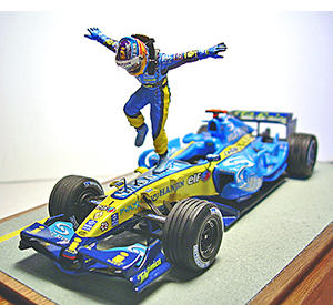 2006 Renault & Alonso by racing dioramics