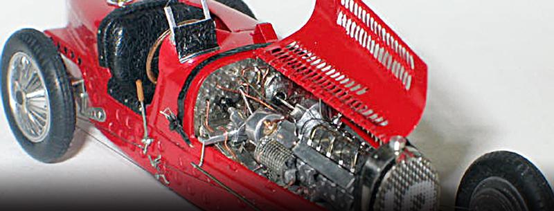 Exquisite 1:43 Bugatti models by Alain Bouissou