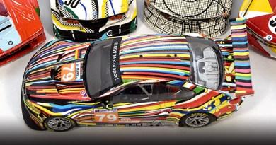 The 1:43 Koons BMW Art Car BUILT