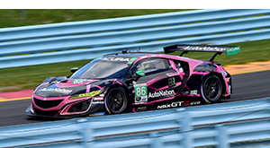 gtd winner acura nsx sahlen's six hours of the glen
