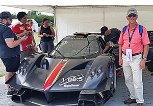 pagani at goodwood festival of speed 2019