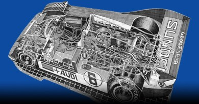 porsche 917-30 motorsport art by Shin Yoshikawa