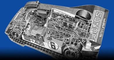 Motorsport art by Shin Yoshikawa