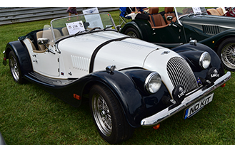 Morgan at the Sunday in the Park Concours