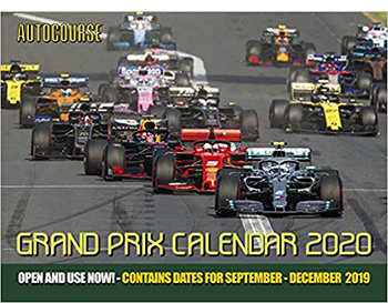 autocourse grand prix 2020 motorsport calendars