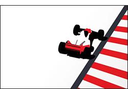 legend -motorsport art by cale funderburk