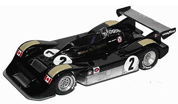 jps wolf dallara can-am model cars