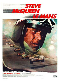 LeMans movie poster Porsche racing posters