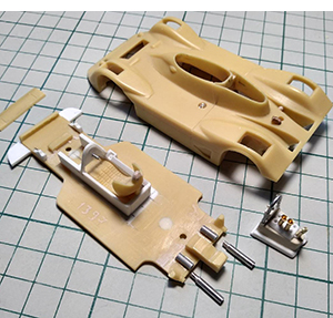 Marsh Wolf Dallara more can-am models in 1/43