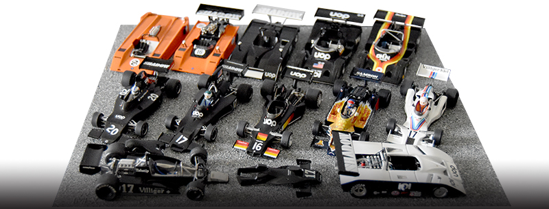 Model car display techniques