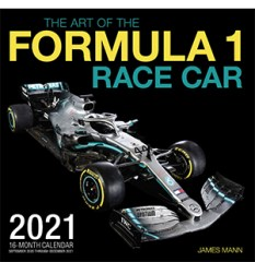 The art of the Formula 1 race car 2021 motorsports calendar