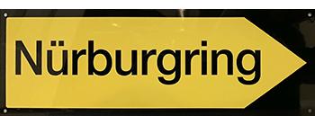 nurburgring direction sign