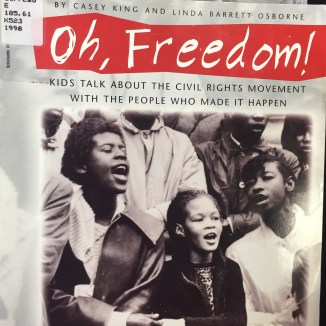 Let's sing . . . about the Black Panthers, who were just trying to be equal.