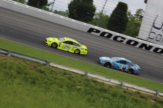 Racing at Pocono