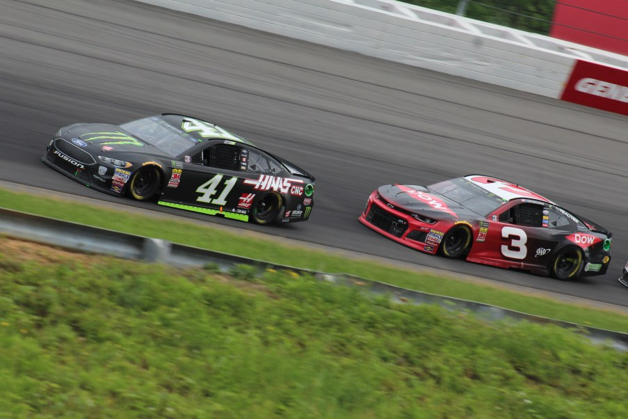 Racing at Pocono