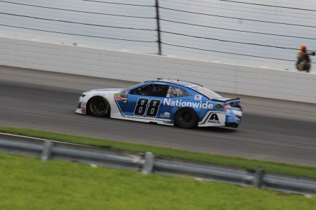 Bowman suffers crash damage