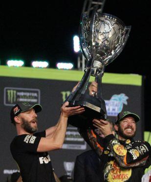 Cole Pearn Martin Truex Jr. 2017 championship