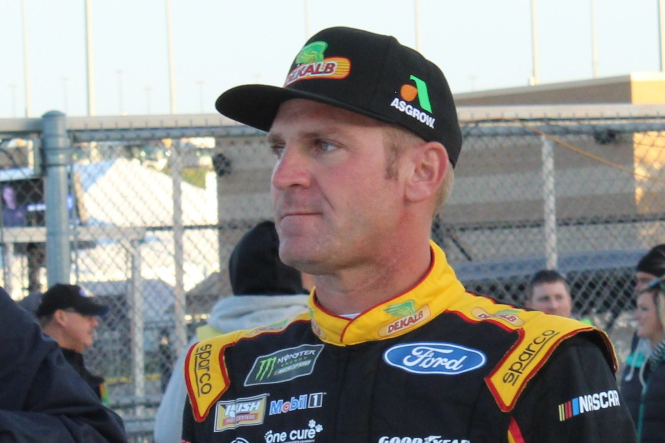 Clint Bowyer 2018 Kansas