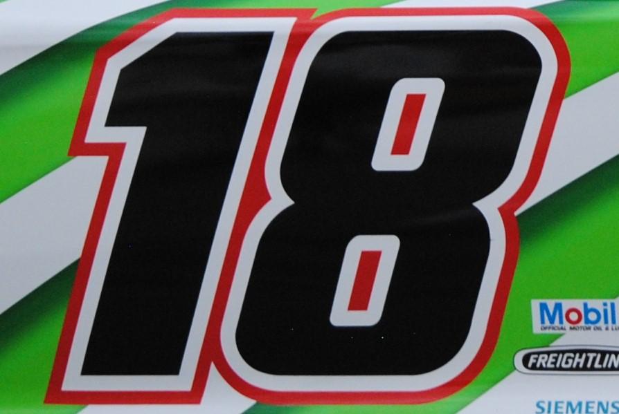 No. 18 logo Kyle Busch Texas 2019