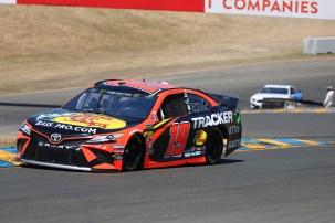 Martin Truex Jr. 2019 Sonoma Raceway