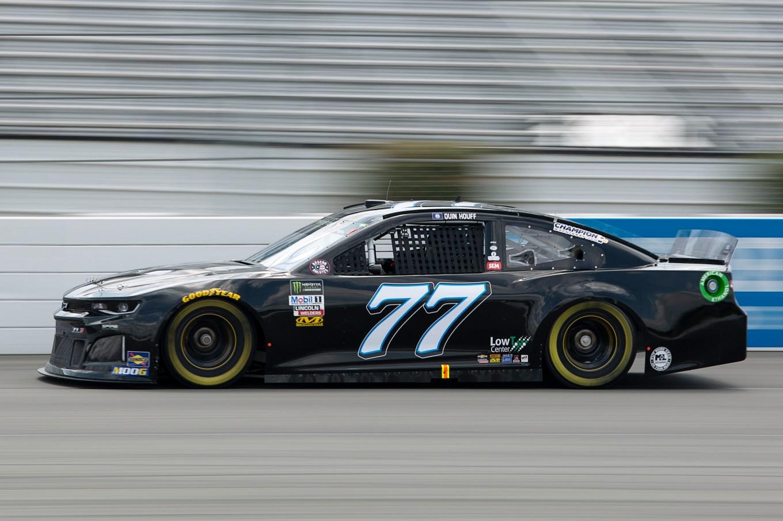#77: Quin Houff, Spire Motorsports, Chevrolet Camaro