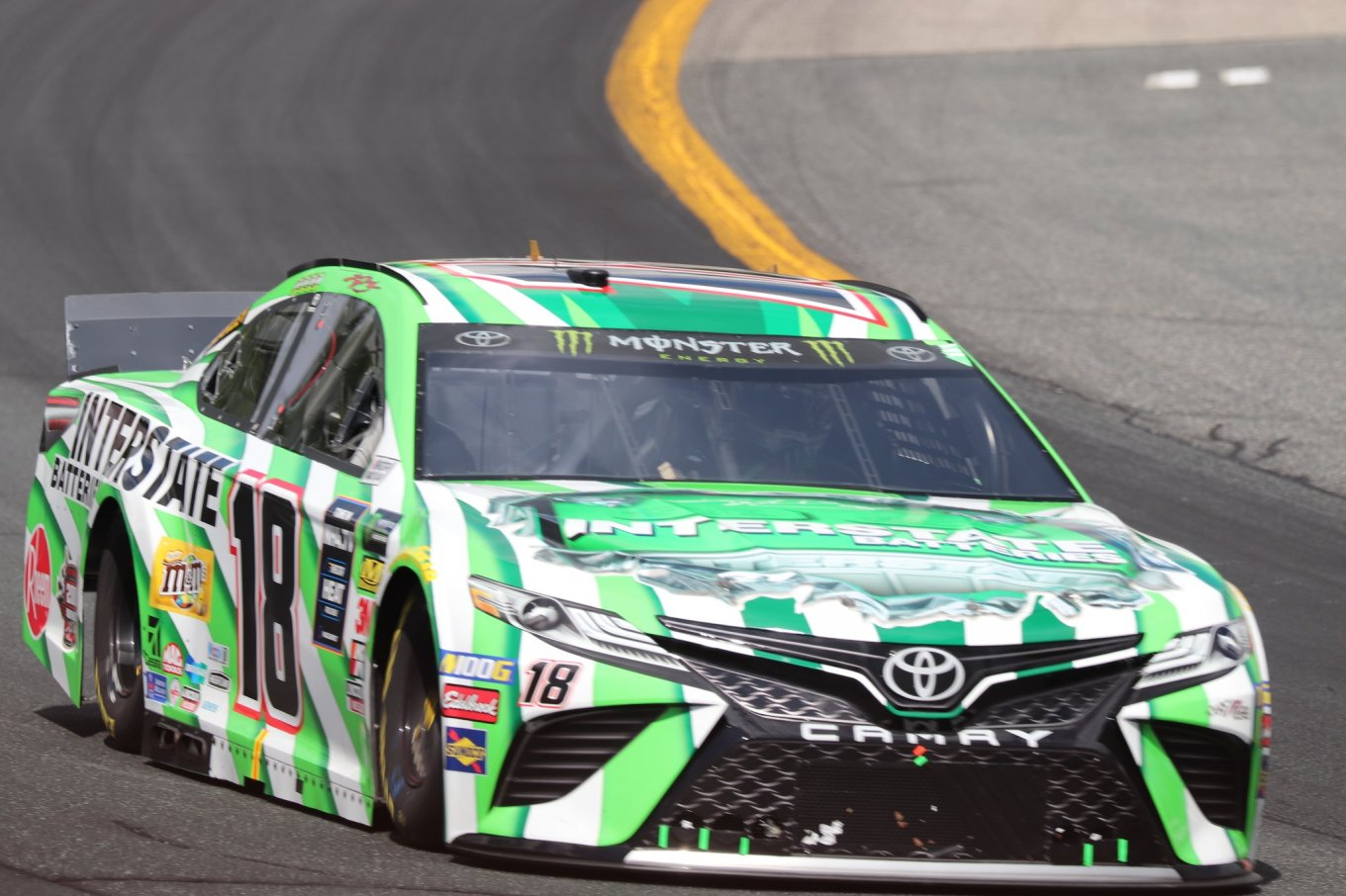 Kyle Busch 18 New Hampshire 2019