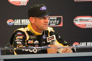 Clint Bowyer media center