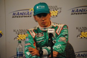 Brandon Jones post race press conference Kansas 2019