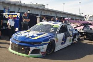 Chase Elliott 9 ISM Raceway crash 2019